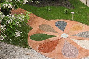 Jardin thérapeutique des sens en unité de soins palliatifs