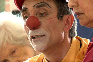 Clown d'accompagnement