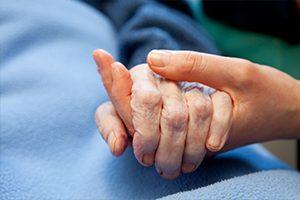 Toucher-massage en soins palliatifs