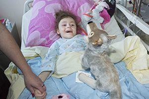 Calendrier de Noël pour enfants malades à l'Hôpital
