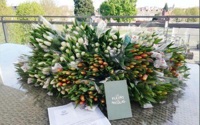 3 000 bouquets pour 3 000 sourires