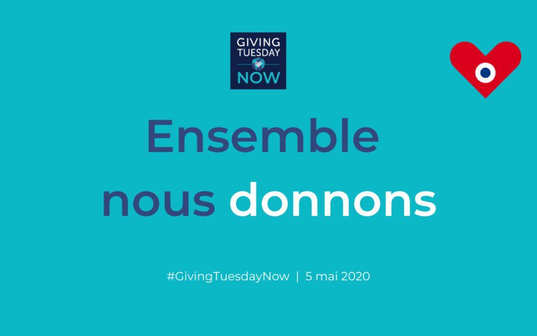 Le Fonds pour les soins palliatifs rejoint le #GivingTuesdayNow, journée mondiale du don et de l'unité.