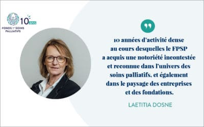 1er janvier 2011…1er janvier 2021 – Le mot de la fondatrice, Laetitia Dosne
