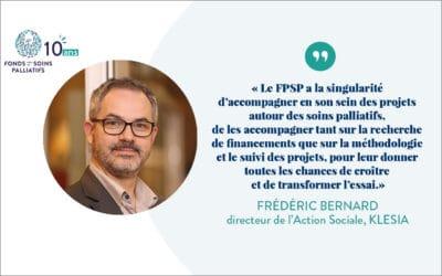 Interview de Frédéric Bernard, directeur de l'Action Sociale, KLESIA