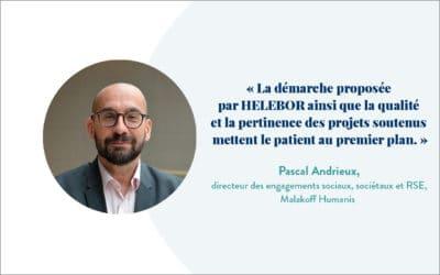Témoignage de Pascal Andrieux, directeur des engagements sociaux, sociétaux et RSE, Malakoff Humanis