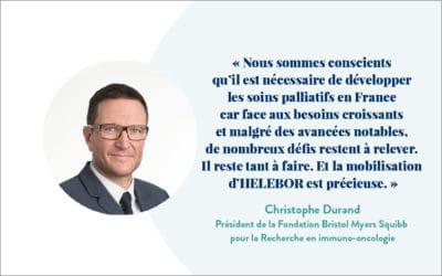 Interview de Christophe Durand, Président de la Fondation Bristol Myers Squibb pour la recherche en immuno-oncologie